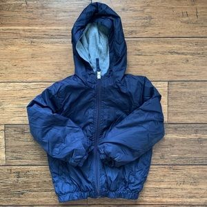 Cherokee Jackets & Coats - Navy Blue Fleece Lined Wind Breaker Jacket